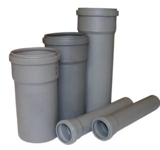 Труба для водоотведения в земле