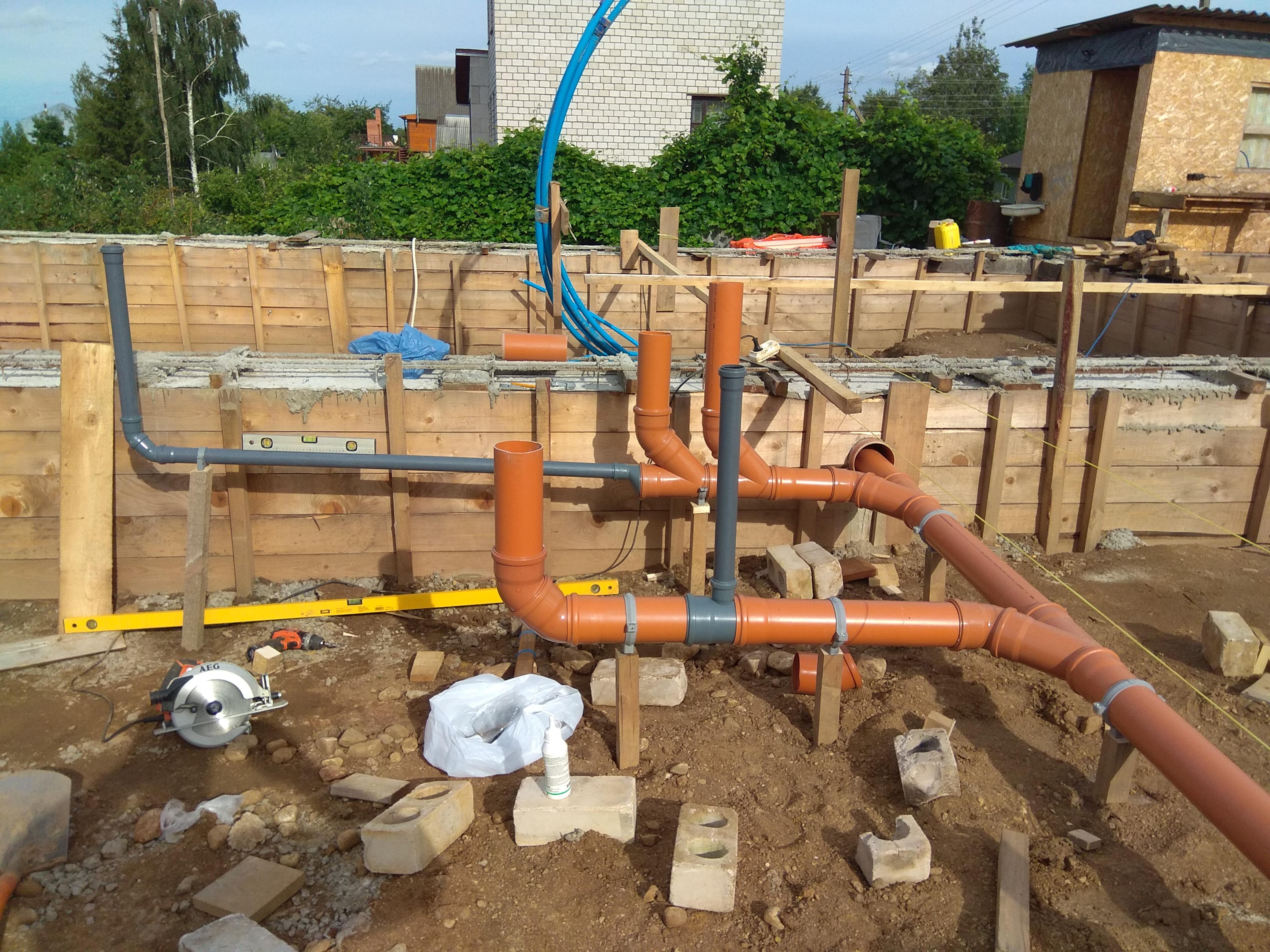 трубы для канализации наружные пластиковые цена