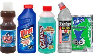 Чем почистить уличную канализацию