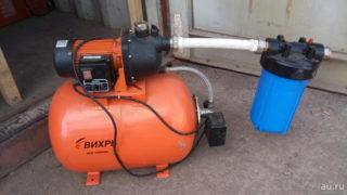 Как установить и подключить насосную станцию к скважине и водопроводу