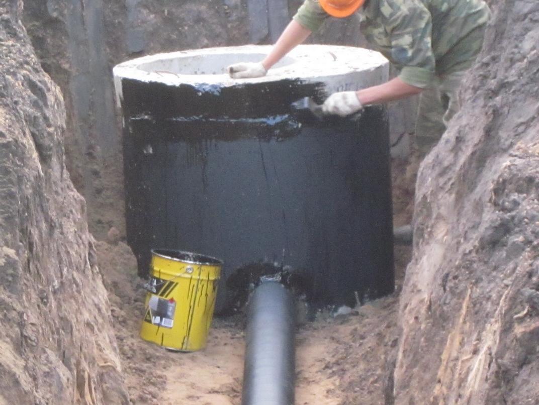 Гидроизоляция канализационных колодцев: требования СНиП, способы и ...