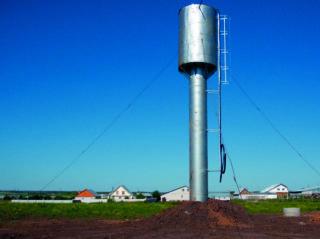 Как устроена водонапорная башня