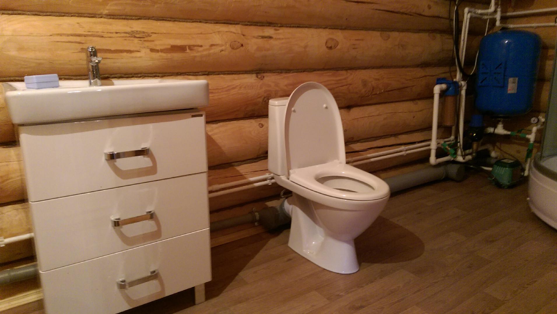 Как сделать туалет в частном доме без канализации?
