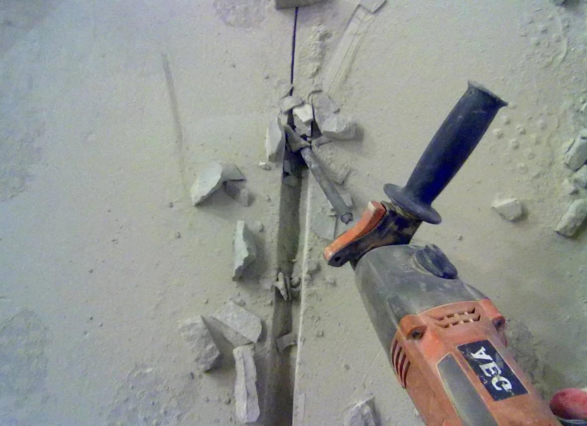 Штробы под электропроводку нормы
