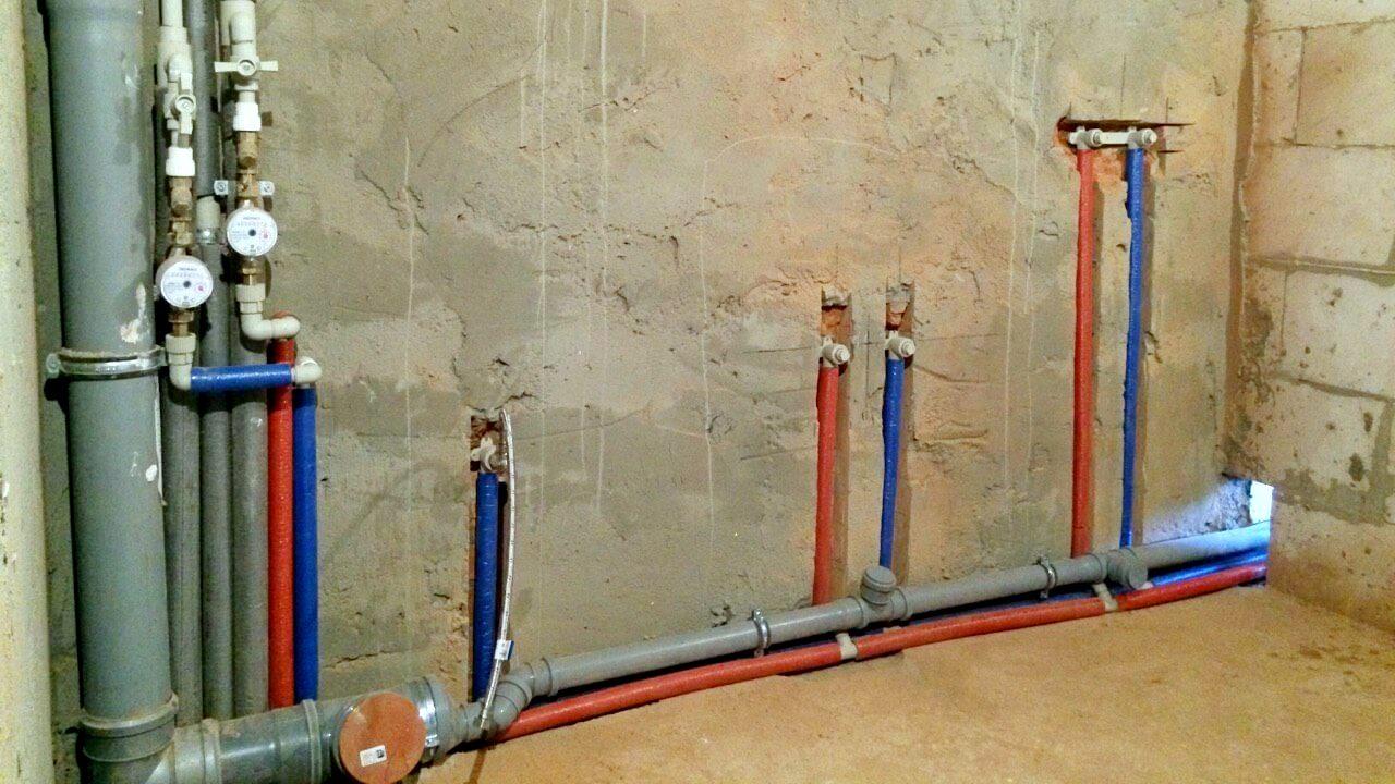 Способы прокладки труб в водопроводной сети