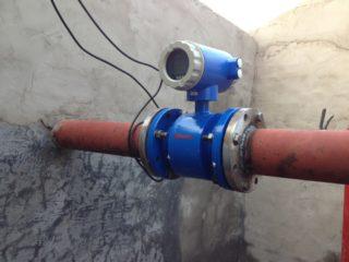 Расходомер для канализации