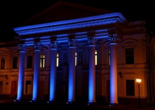 Фасадное освещение частного дома  требования и типы