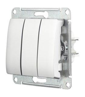 Трехклавишный перекрестный выключатель