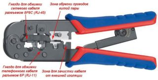 Распиновка кабеля витой пары RJ45 и обзор технологии правильной обжимки