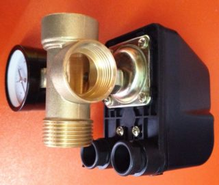 Реле давления гидроаккумулятора