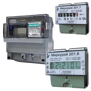 Паспорт счетчика электроэнергии меркурий