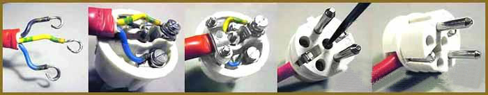 Как подключить вилку к проводу: евровилка и старая вилка