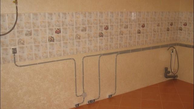 Схема электропроводки на кухне: выбор автомата и сечения провода, встраиваемая техника