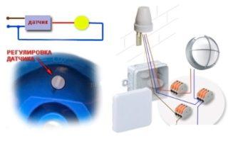 Уличные датчики освещенности для включения света