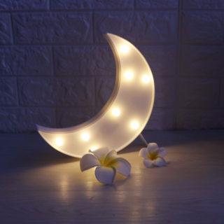 Светодиодный ночник из дерева