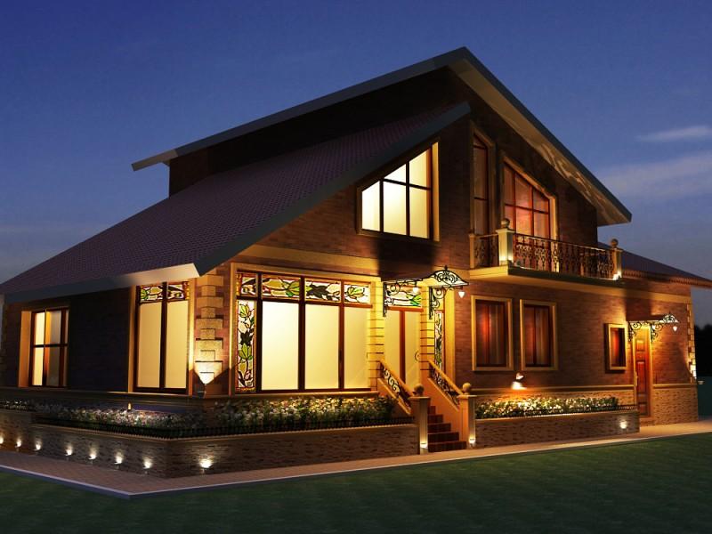 Фонарь для наружного освещения дома
