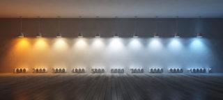 Что такое коэффициент светодиодных ламп — спектр света и его влияние на человека - Стройка