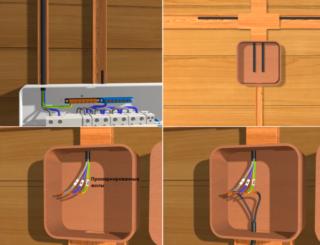 Проводка для бани какой провод