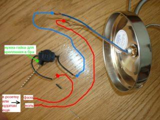 Конструкционные особенности и разновидности выключателей для бра - Стройка
