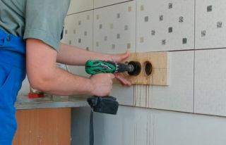 Подрозетники по бетону: характеристики, установка, диаметр и глубина