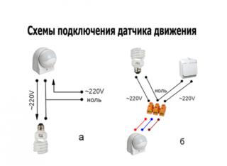 Выбор и установка автоматического выключателя с датчиком движения - Ремонт