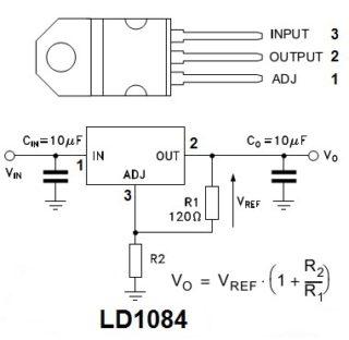 Стабилизатор напряжения 12 вольт для автомобиля светодиодов