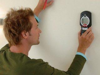 Приборы для поиска скрытой проводки в стене - Ремонт