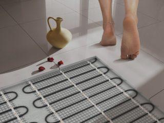 Как сделать теплый пол в бане своими руками? Водяной теплый пол в бане своими руками