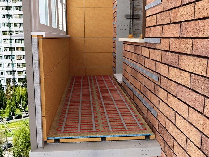 Теплый пол на балконе и лоджии обзор отопительных систем