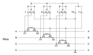 Трехфазные счетчики электроэнергии установка и подключение