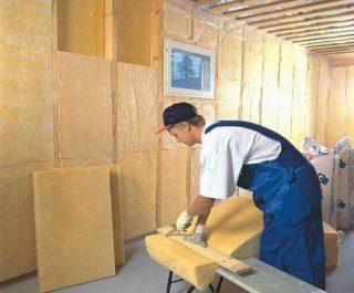 Чем утеплить стены внутри частного дома