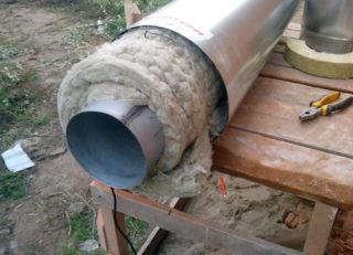 Термоизоляция для труб дымохода: плюсы и минусы, материалы, тонкости утепления