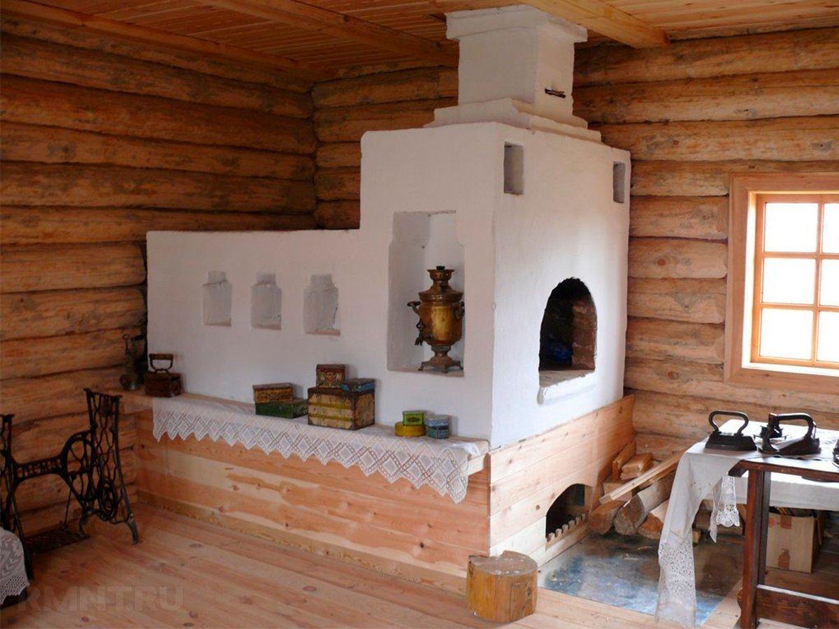 Как выглядит русская печка