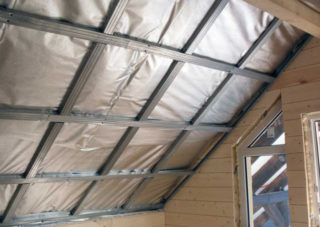 Чем утеплить потолок в бане и парилке изнутри своими руками
