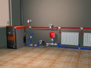 Расширительный бак открытого типа для отопления