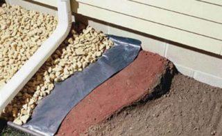 Утепление отмостки Пеноплексом вокруг дома — схема, устройство, технология