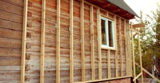 Утепление наружных стен дома из бруса