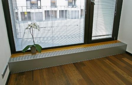Отопление под панорамными окнами