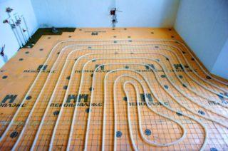 Пеноплекс для пола устройство теплоизоляции