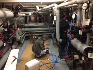 Снип давление при опрессовке системы отопления