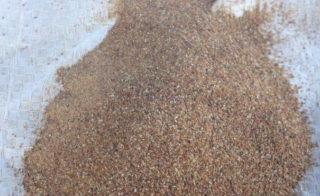 Смесь глины и песка для ремонта печи