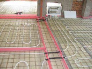 Водяной теплый пол без бетонной стяжки