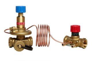 Работа балансировочного клапана в системе отопления