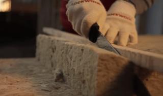 Чем резать минеральную вату: свойства, характеристики, инструменты для резки