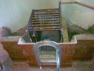 Встраиваемый котел в кирпичную печь