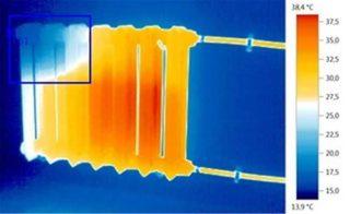 Тэн для батареи отопления с терморегулятором