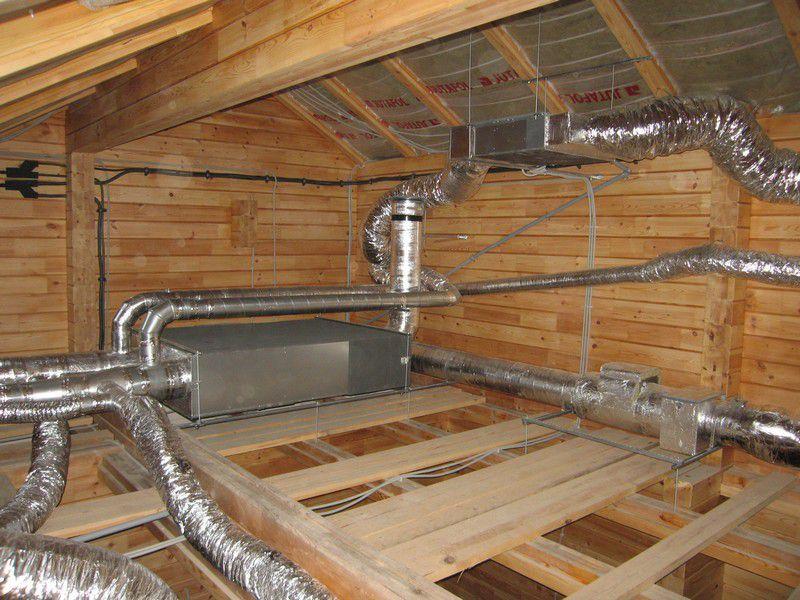 Можно ли выводить вентиляцию на чердак в частном доме Лучшие варианты обустройства