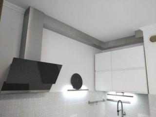 Как сделать короб из гипсокартона для вентиляции на кухне