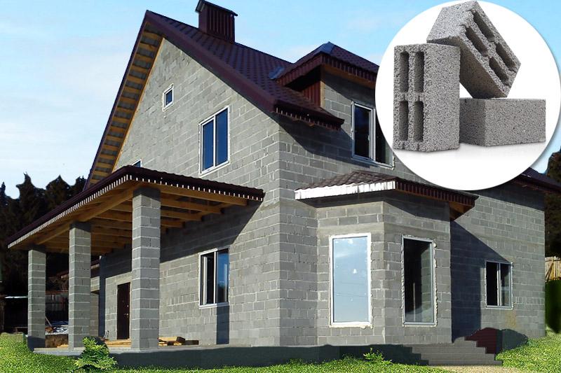 Строить дом из керамзитобетон цена стяжка бетона