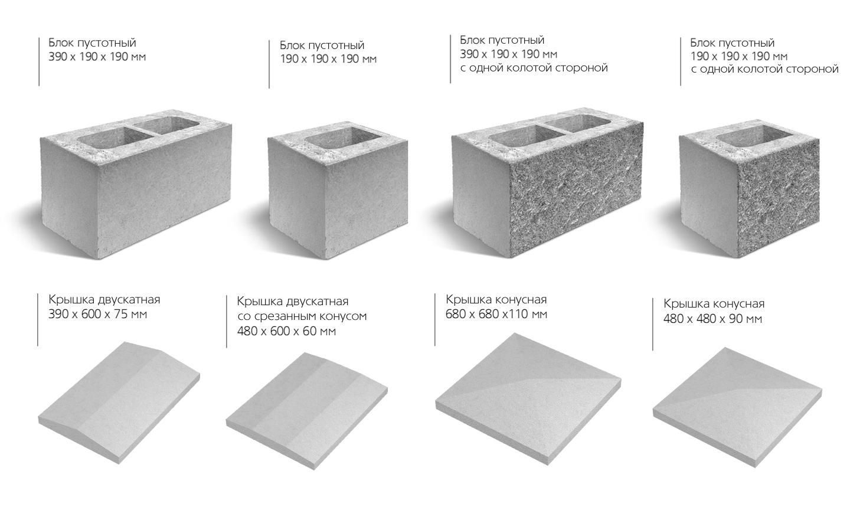 Блок из бетона бетон из речного гравия